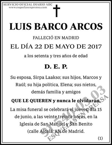 Luis Barco Arcos
